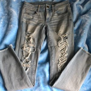 Denim - American eagle jeans super stretchy! Size 6 R